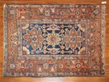 Antique Heriz Rug, Persia, 4.7 x 6