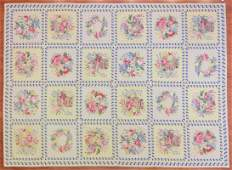 Needlepoint Carpet, Probably Portuguese, 8.9 x 12