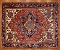 Semi-Antique Heriz Rug, Persia, 9.2 x 11.3