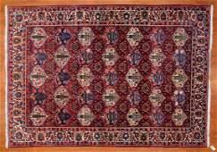 Bahktiari Rug, Persia, 7.7 x 10.9
