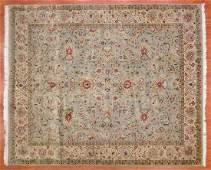 Fine Indo Keshan Design Rug, India, 8 x 9.8