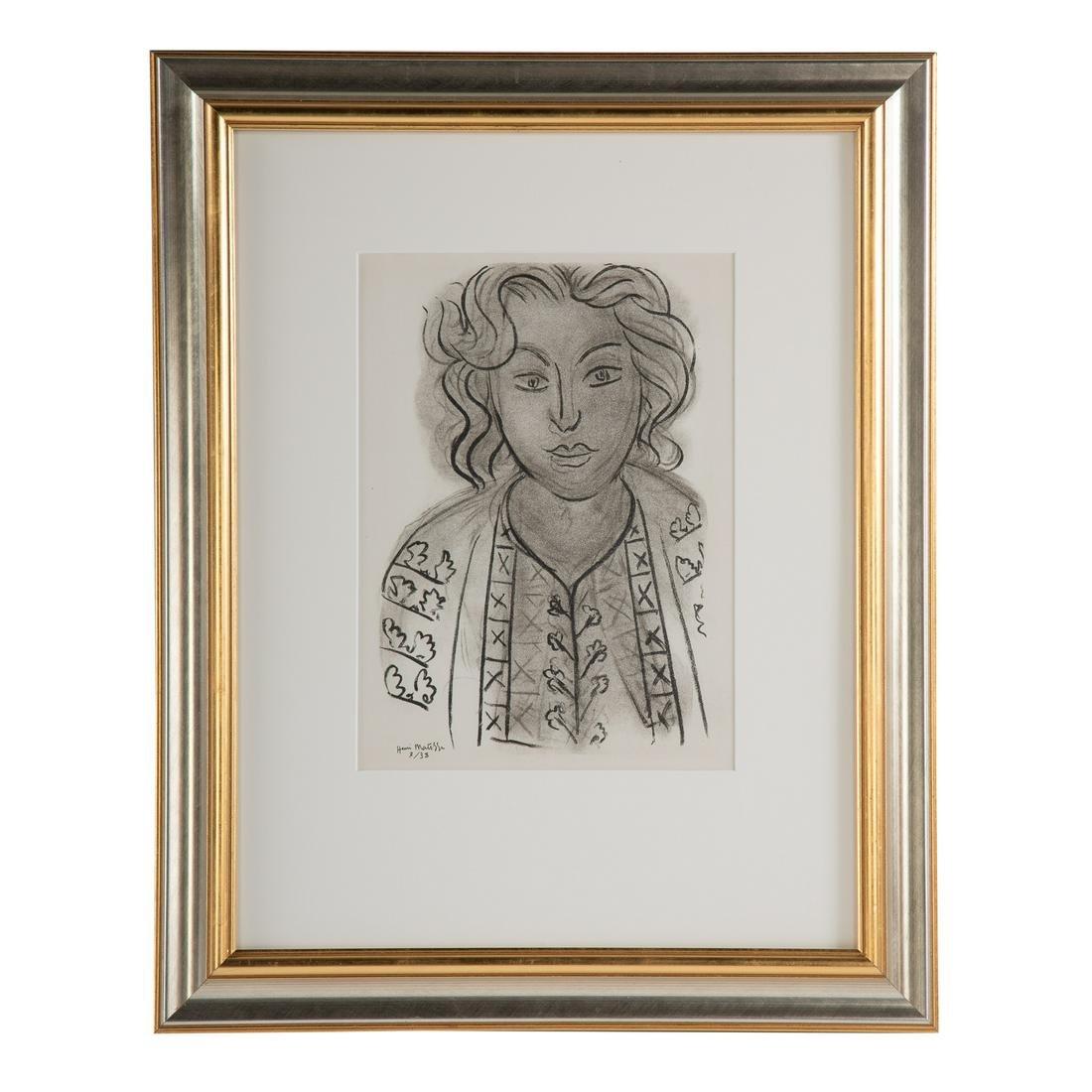 "Henri Matisse. ""Tete de Femme"""