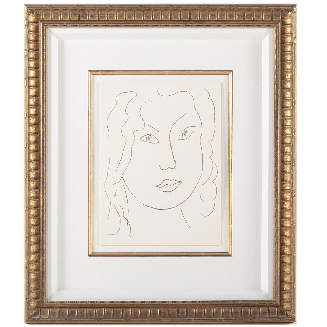 """Henri Matisse. """"Parapharse d'un Chant..."""""""