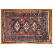 Semi-Antique Afshar Rug, Persia, 4.2 x 5.8