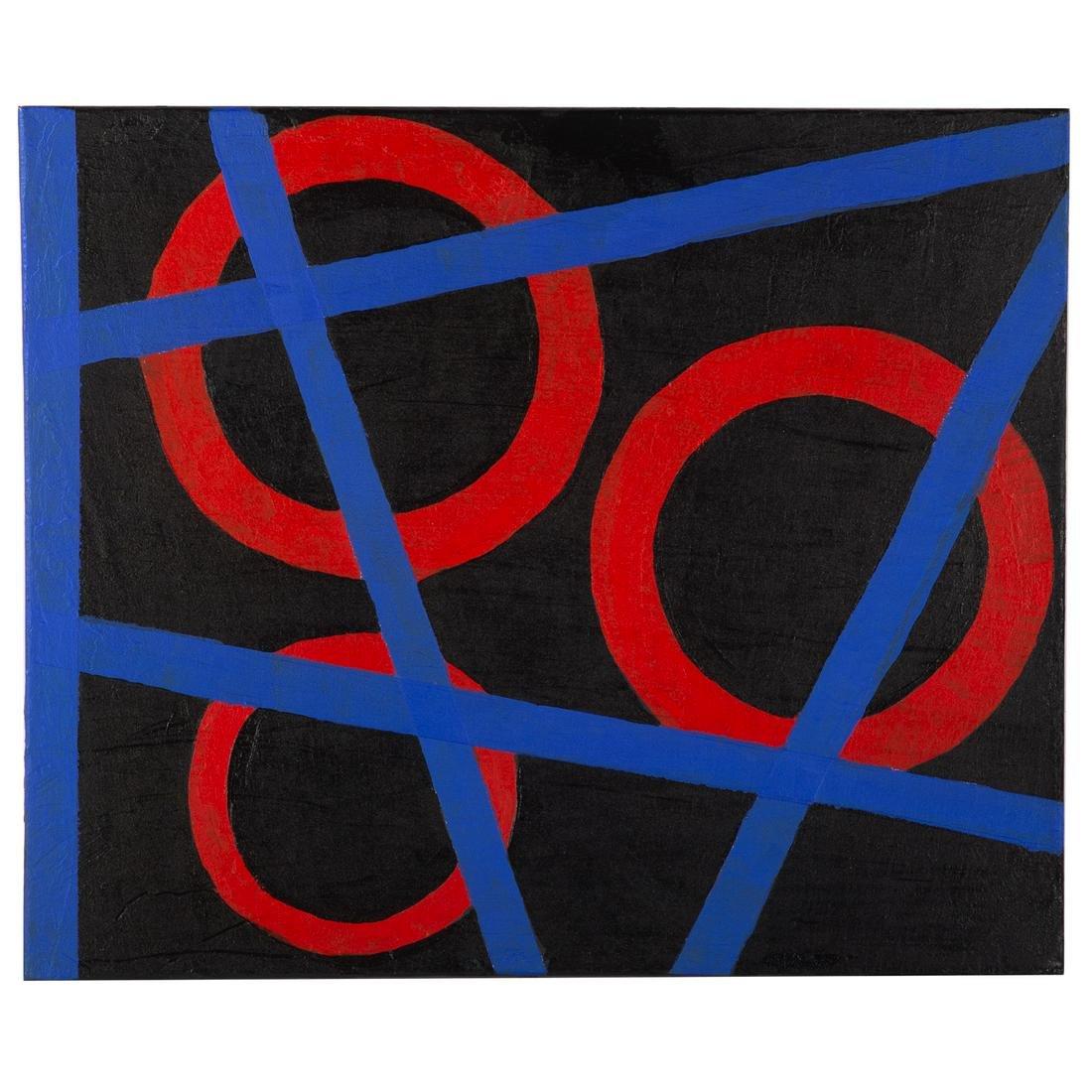 EJ Montgomery. Three Red Circles