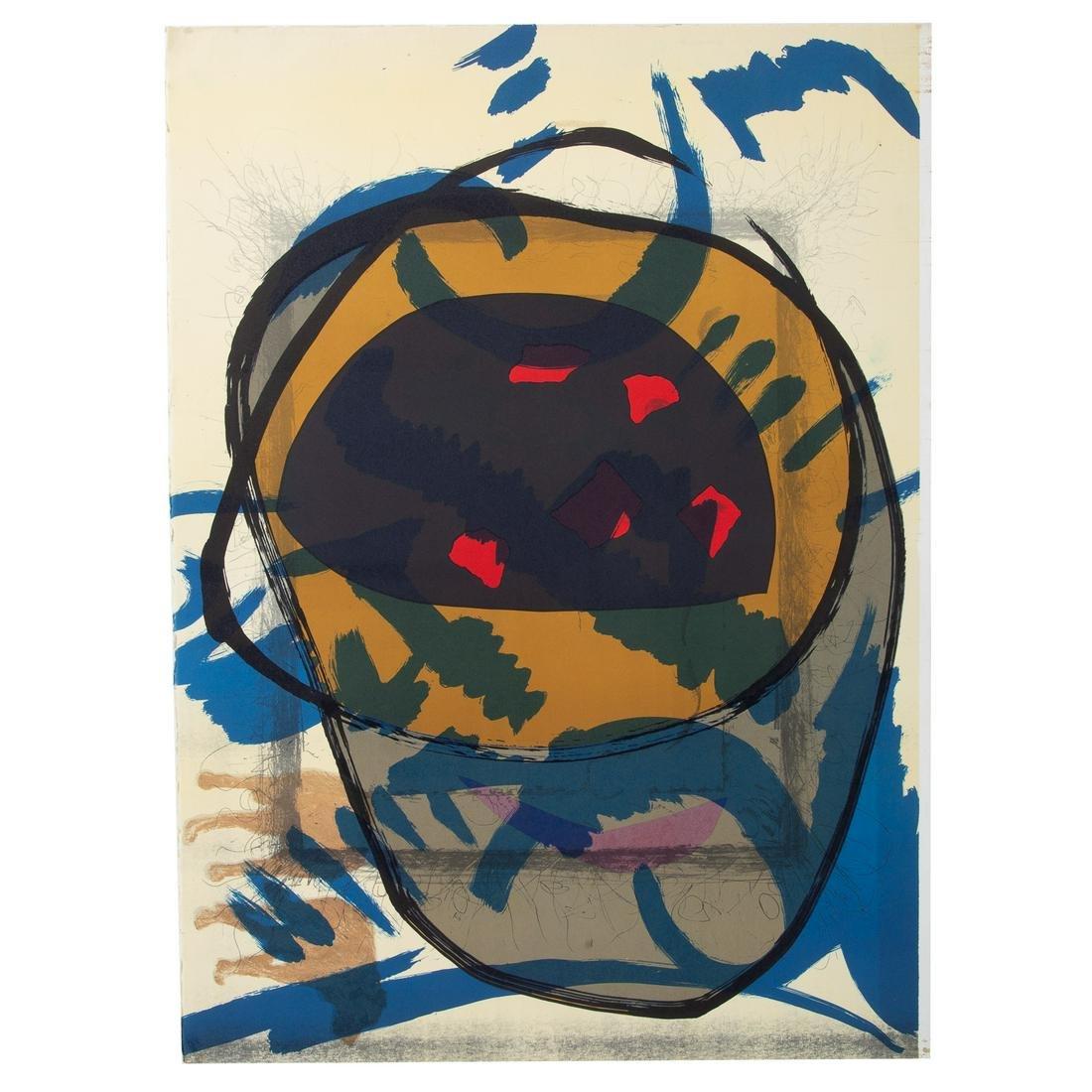 Ichiro Matsuo. Untitled Abstract Print