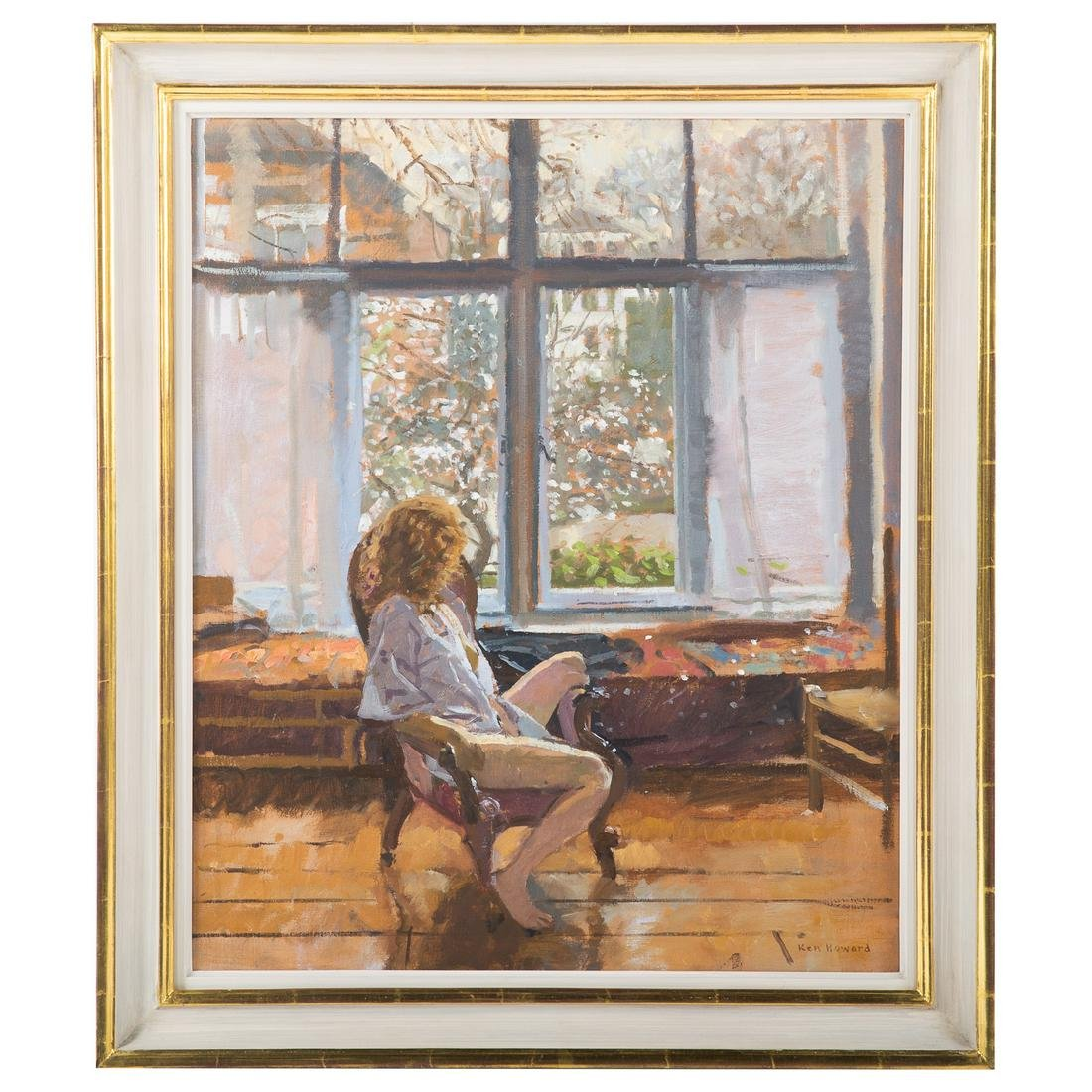Ken Howard. The Artist's Model