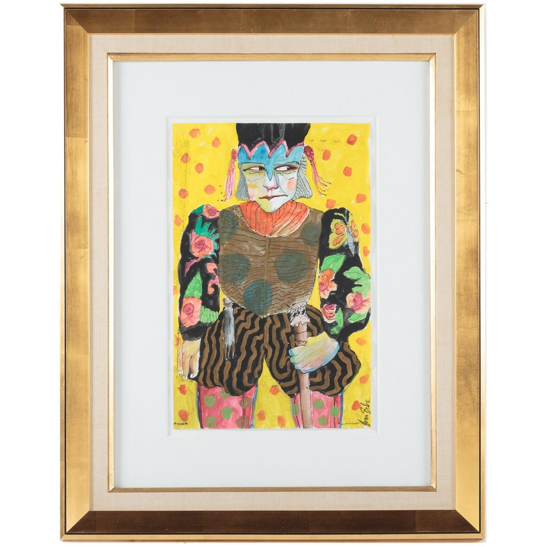 "Joan Erbe. Yellow Samurai"""