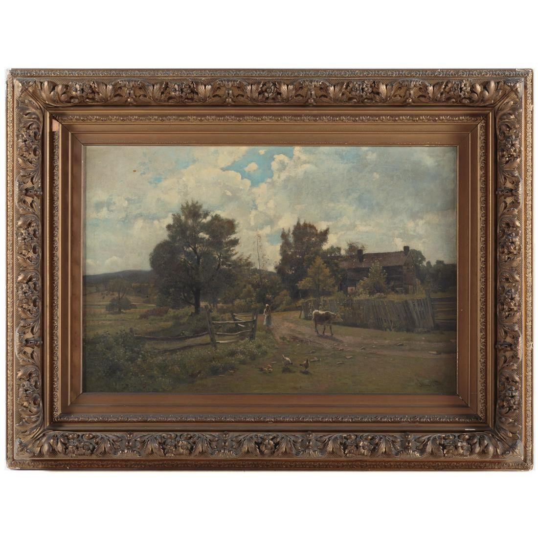 John Robinson Tait. Pastoral Landscape