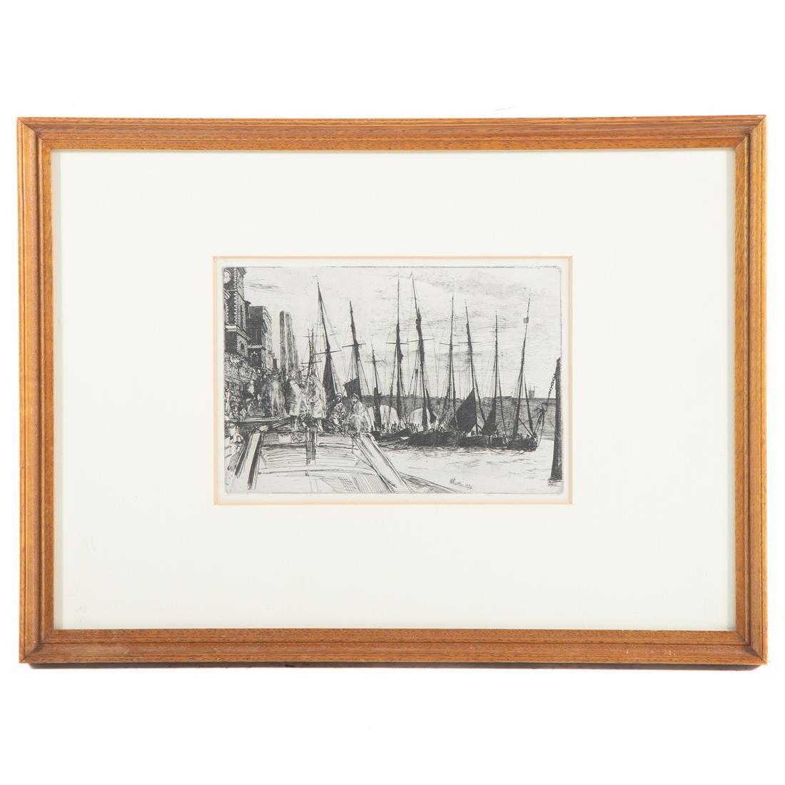"""James Whistler. """"Billingsgate"""""""