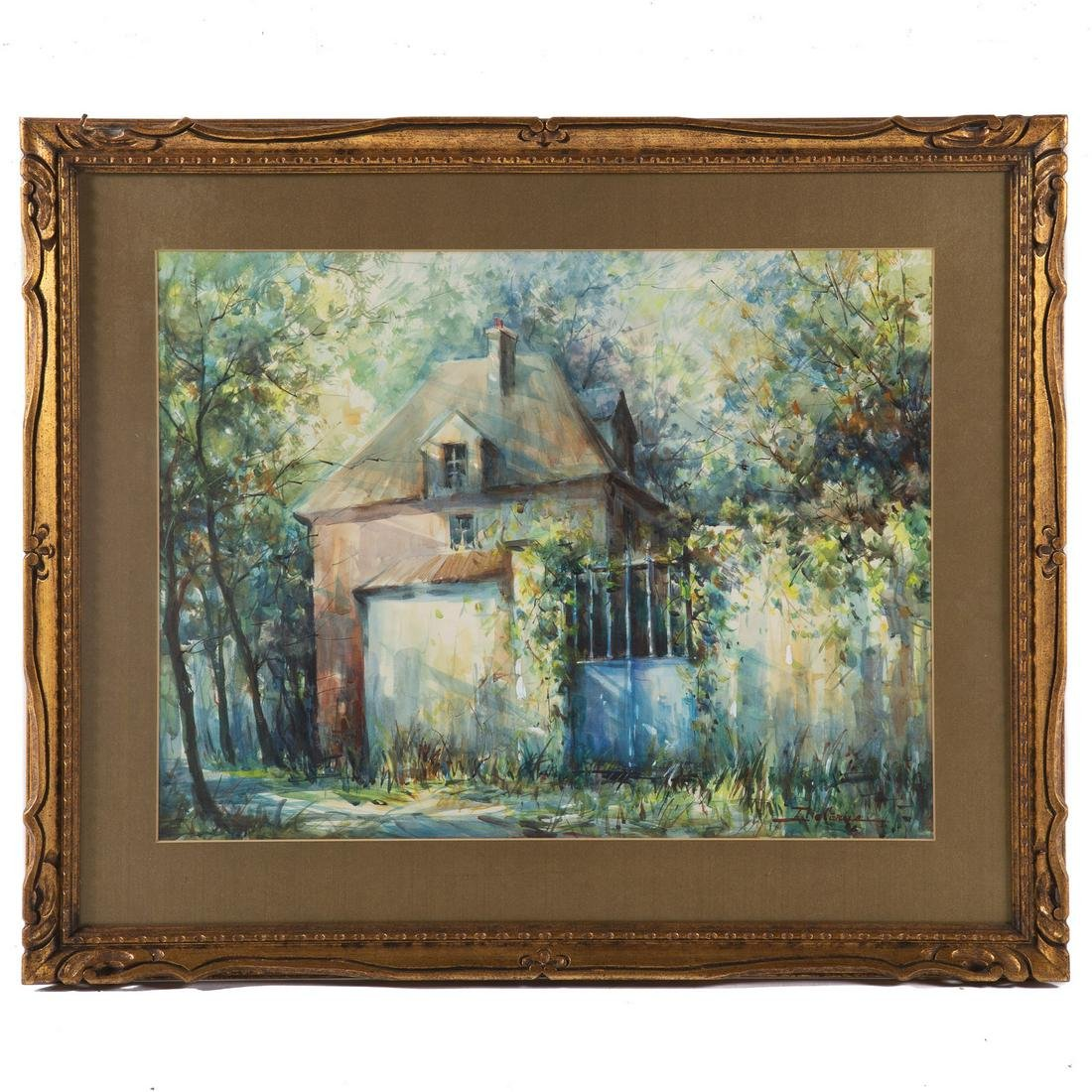 Lucien Delarue. French Country Home