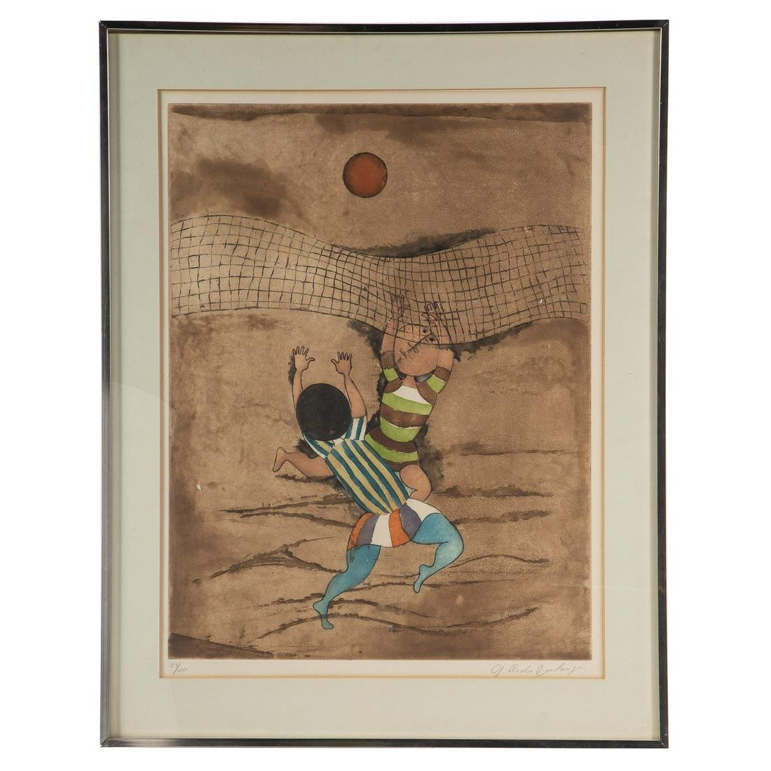 Graciela Rodo Boulanger. Volleyball Players