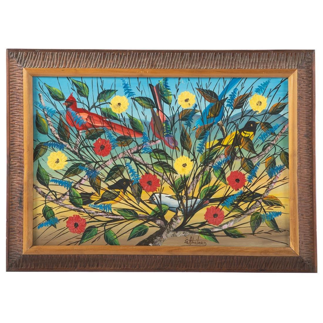 Gesner Abelard. Birds On A Branch