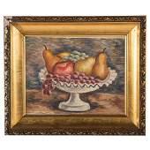 "Paul Rohland. ""Dish of Fruit"""
