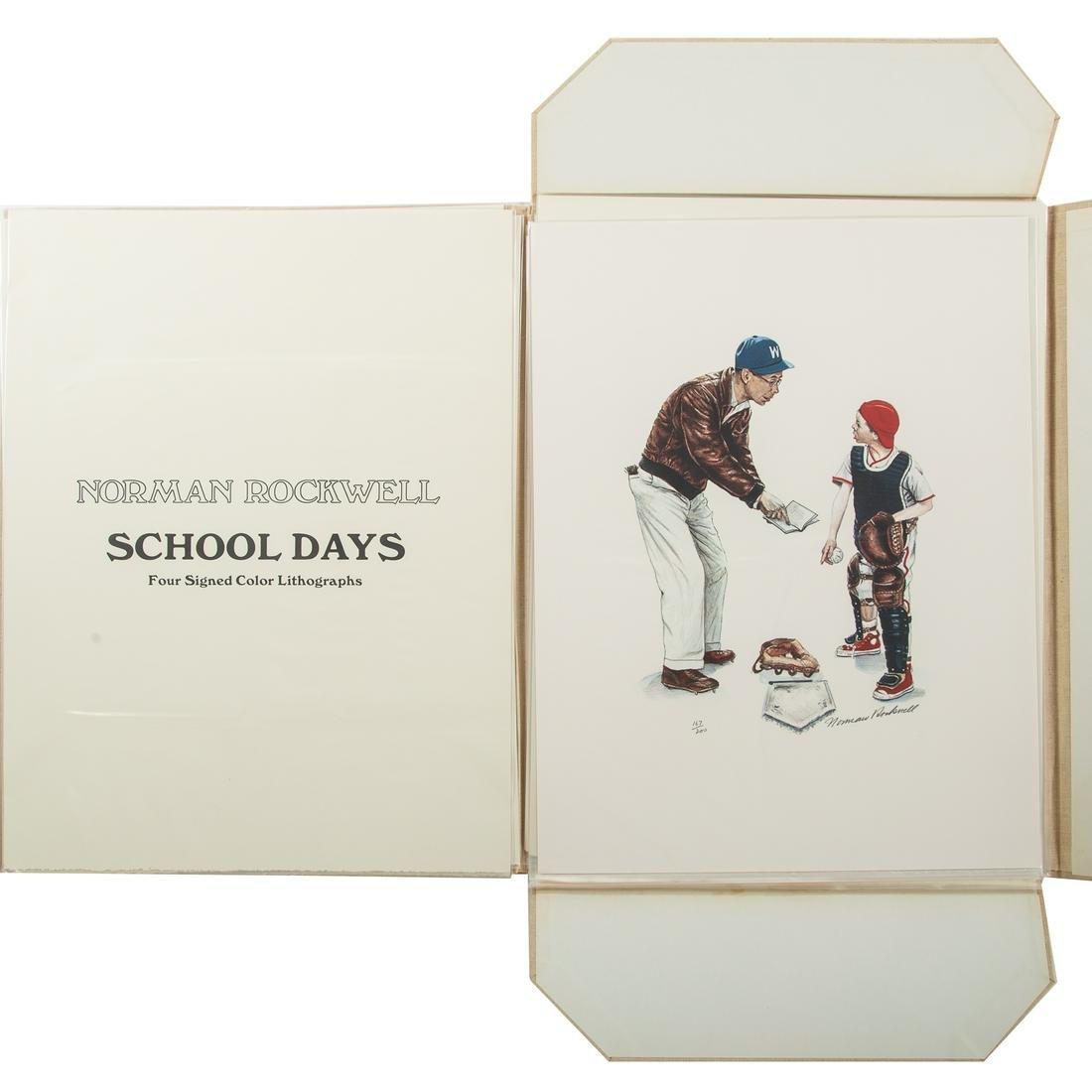 "Norman Rockwell. ""School Days,"" Portfolio"