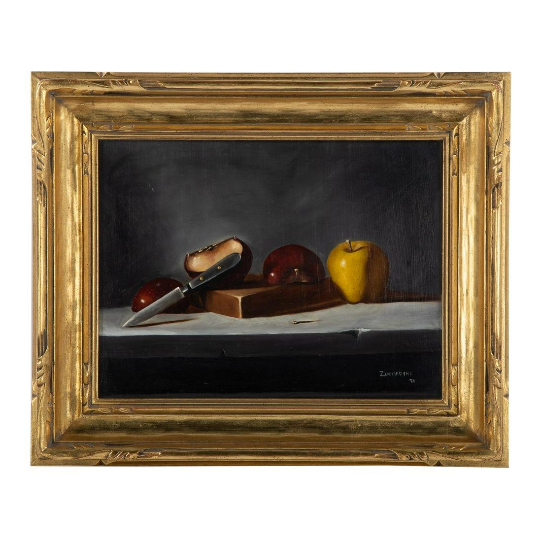 David Zuccarini. Still Life With Apples
