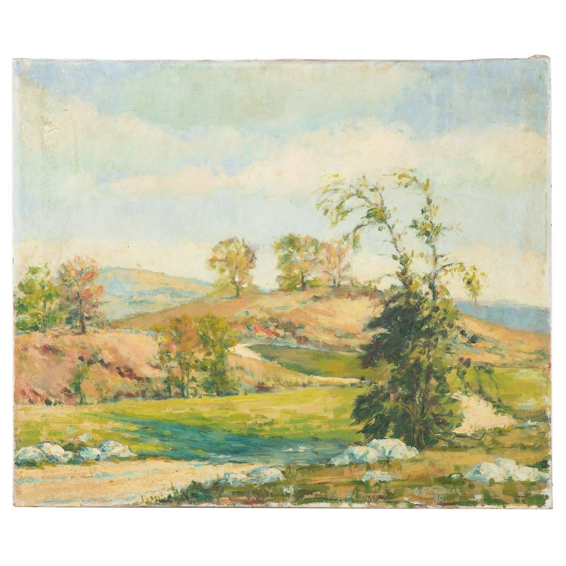 Gershon Camassar. Connecticut Landscape