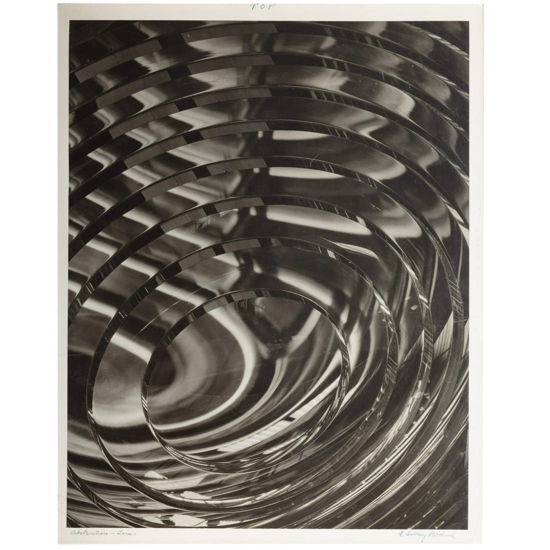 "A. Aubrey Bodine. ""Abstraction Lens"""