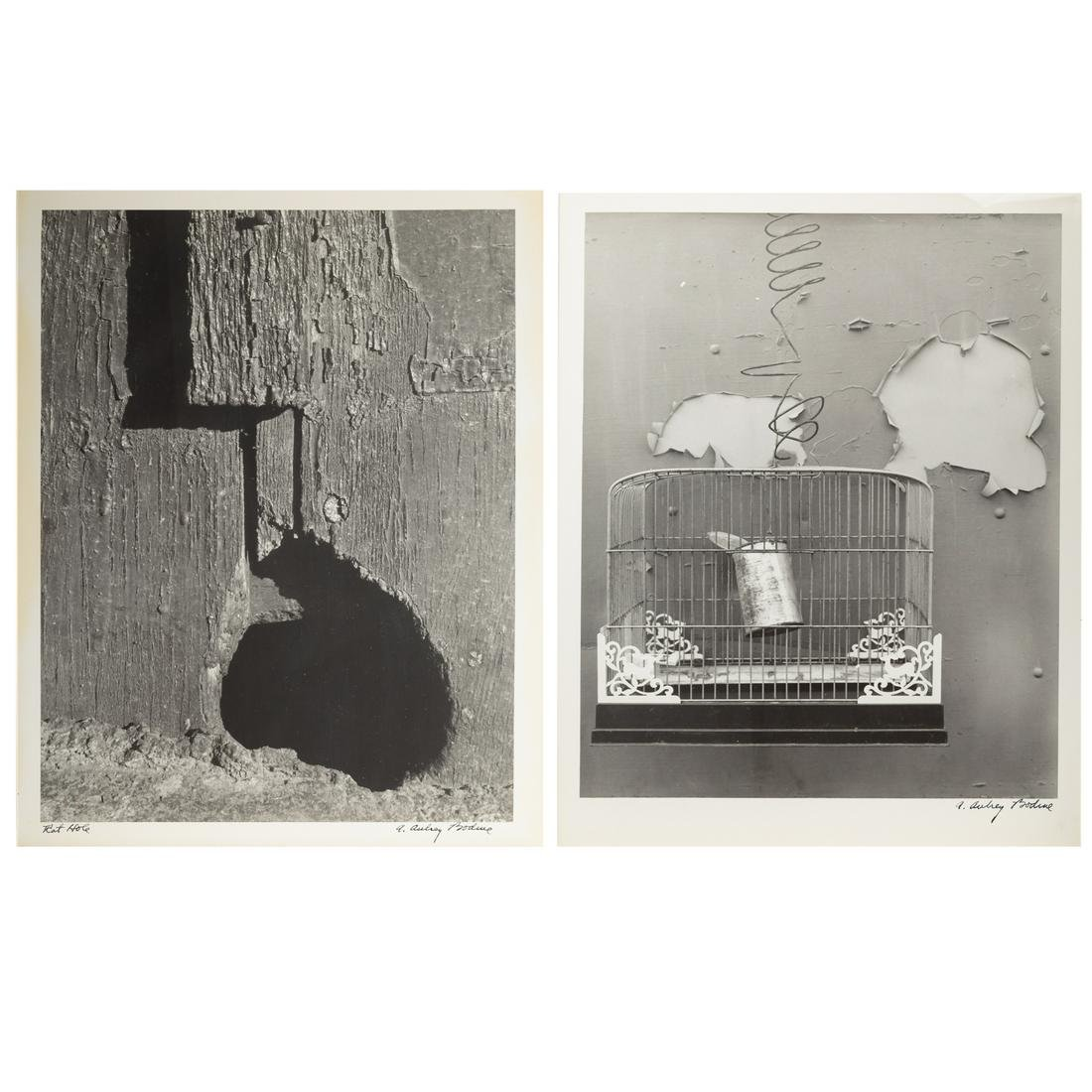 A. Aubrey Bodine. Two Unframed Photographs