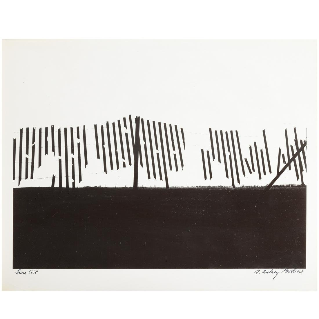 "A. Aubrey Bodine. ""Line Cut"""