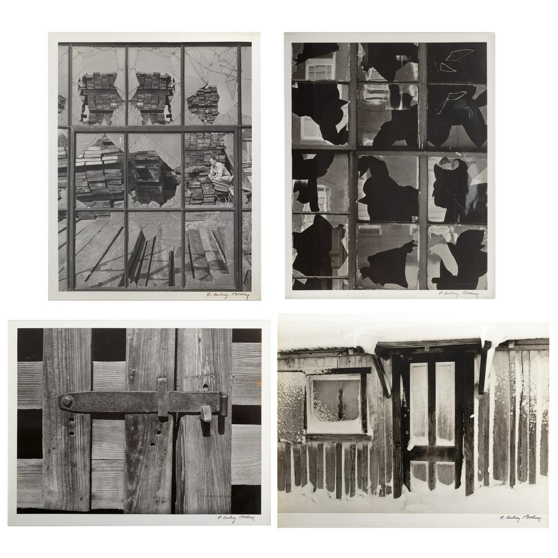 A. Aubrey Bodine. Four Unframed Photographs