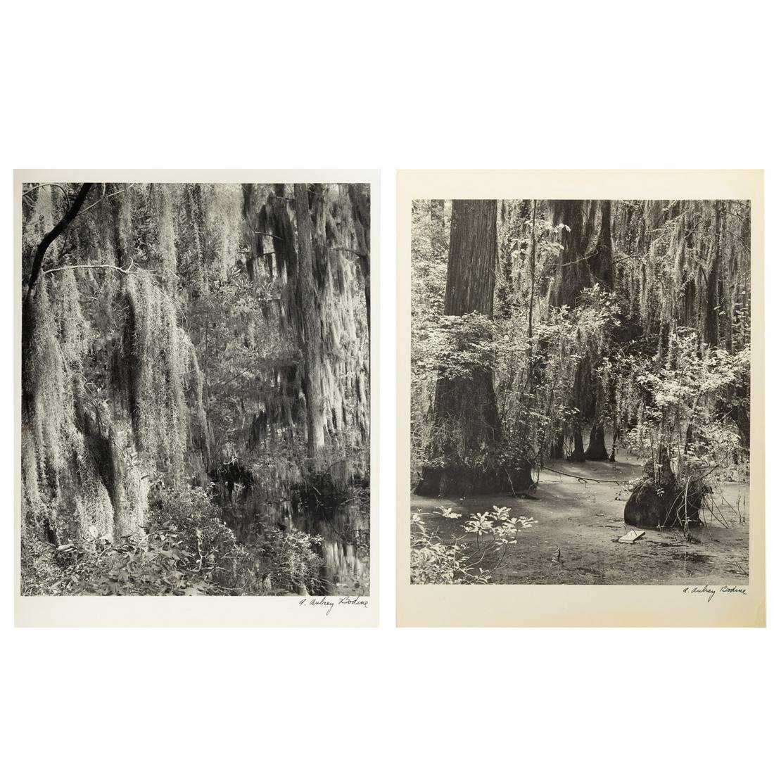 A. Aubrey Bodine. Two Unframed Photographs