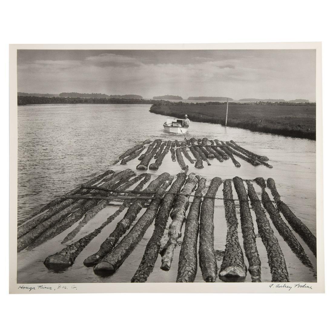"""A. Aubrey Bodine. """"Honga River, Dor. Co[unty]"""""""