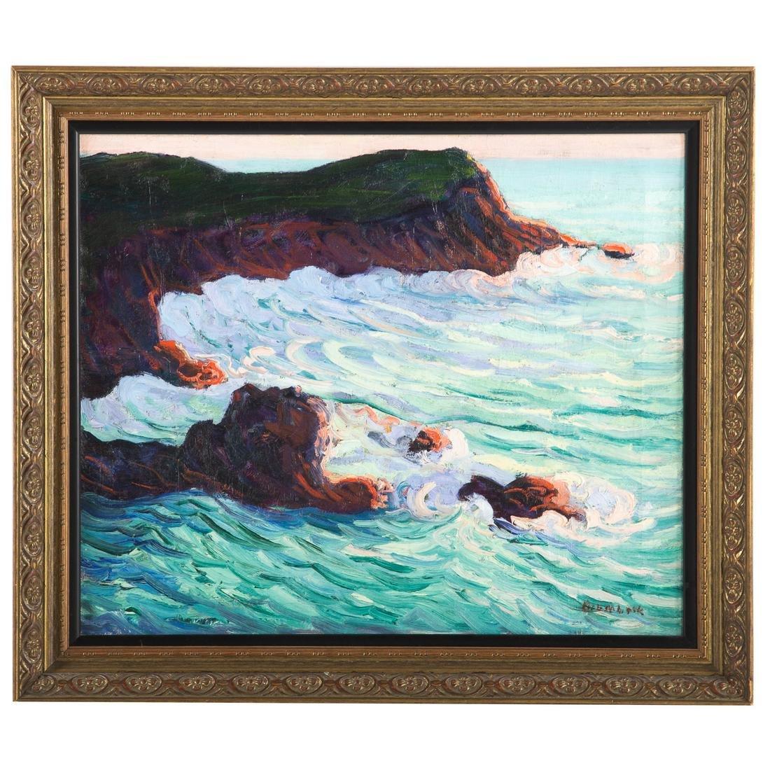 """Louise Upton Brumbeck. """"Crashing Surf"""""""