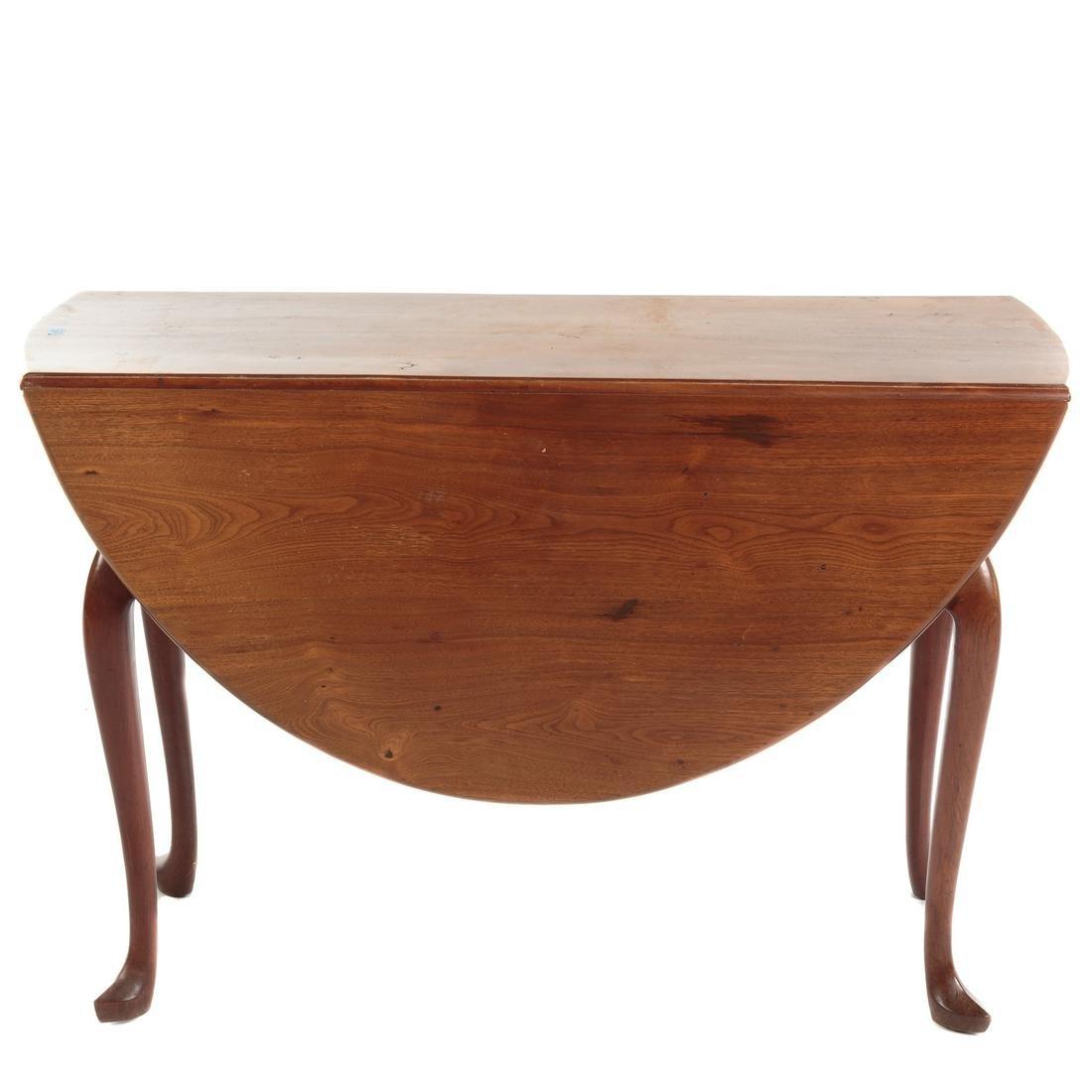 George II Walnut Drop Leaf Table