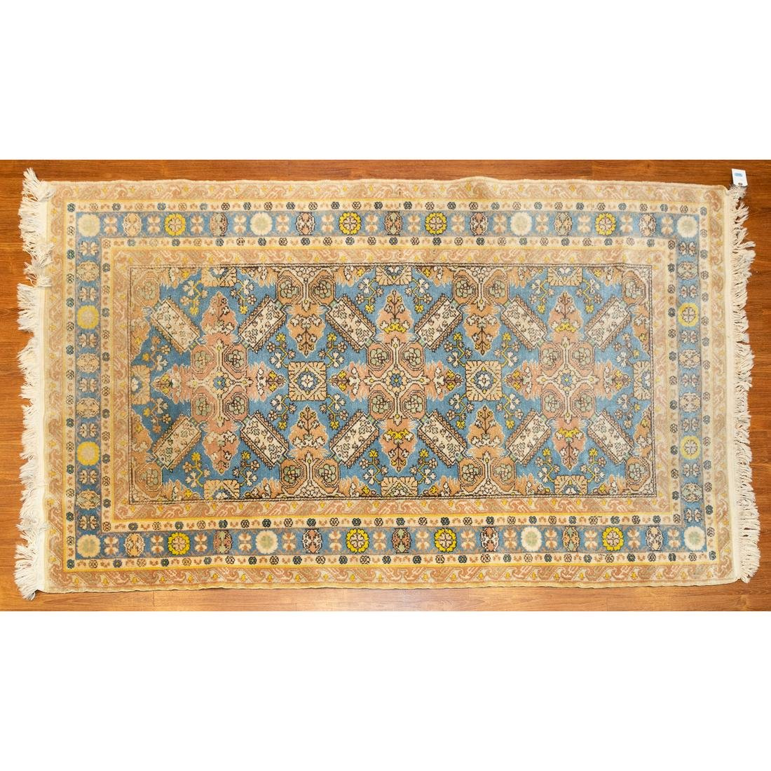 Turkish Kazak Design Rug, 4.2 x 8