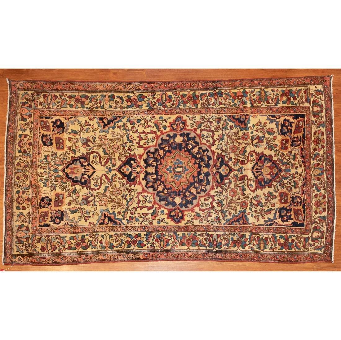 Antique Fereghan Sarouk Rug, Persia, 4.2 x 6.10