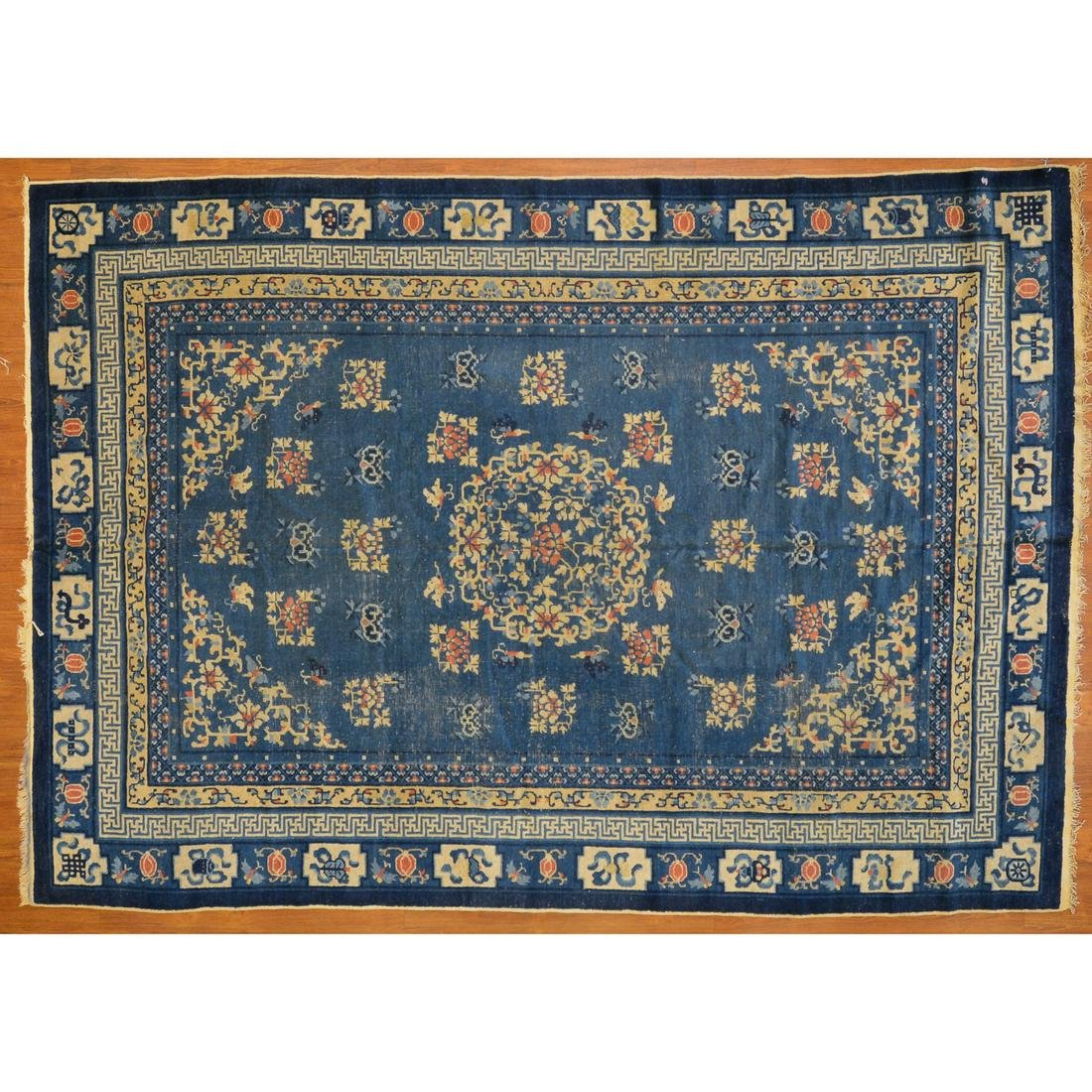 """Antique Fetti Chinese Rug, 7'1"""" x 10'1"""""""