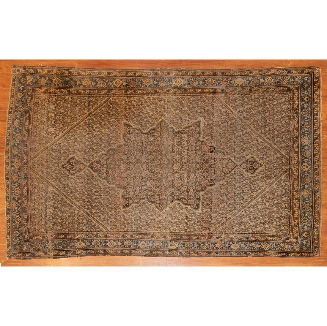 Antique Senneh Rug, Persia, 4.1 x 6.5