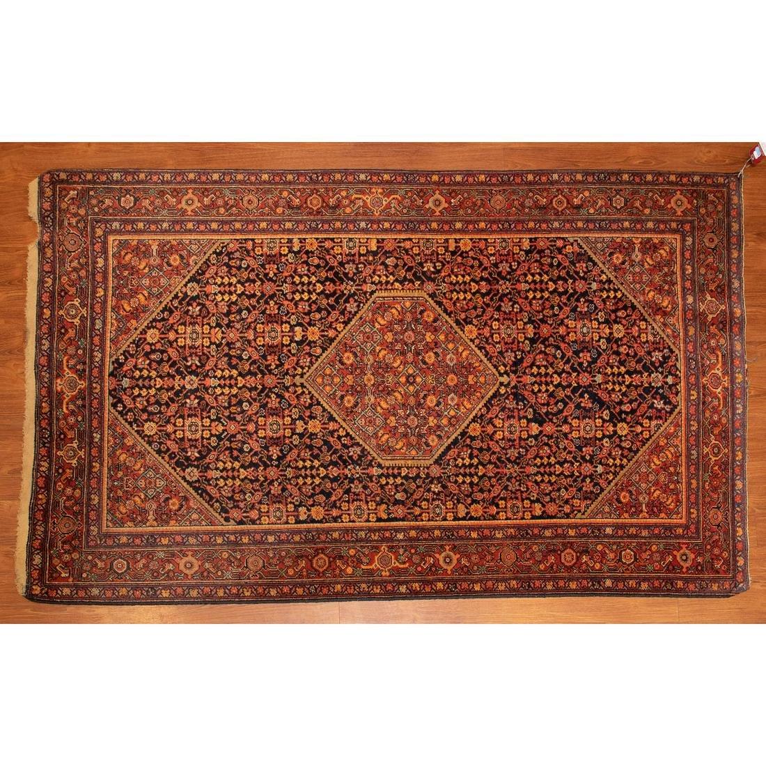 Antique Bijar Rug, Persia, 4.2 x 6.6