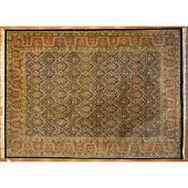 Indo Tabriz Carpet, India, 10 x 13.10