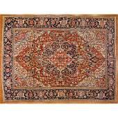 Semi-Antique Heriz Rug, Persia, 5.9 x 12.4