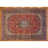 Kashan Rug, Persia, 7.11 x 11.4
