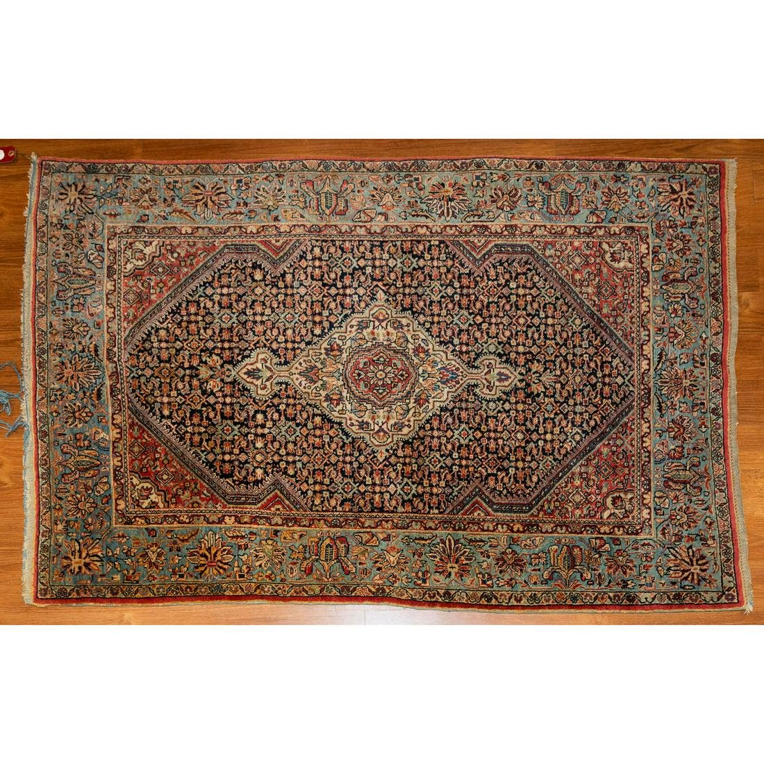 Antique Bijar Rug, Persia, 3.5 x 5
