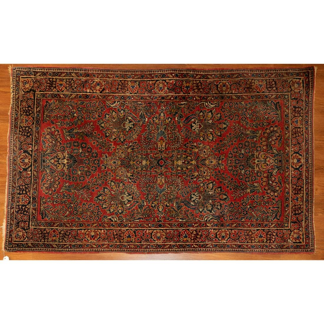 Semi-Antique Sarouk Rug, Persia, 3.5 x 5.5