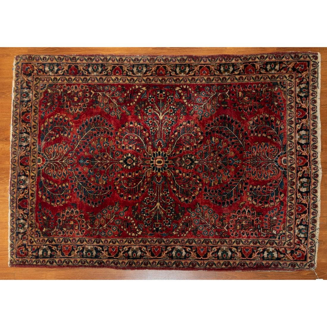 Semi Antique Sarouk Rug, Persia, 3.4 x 4.8