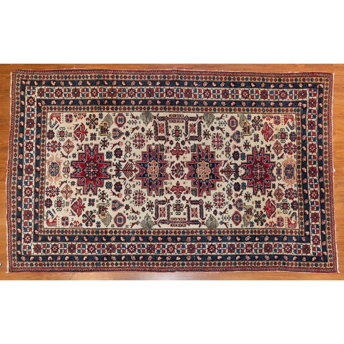 Ardebil Rug, Persia, 4.7 x 6.11