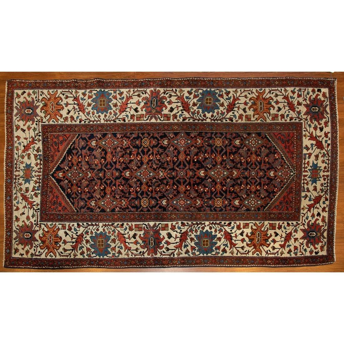 Semi-Antique Hamadan Rug, Persia, 4.3 x 6.8