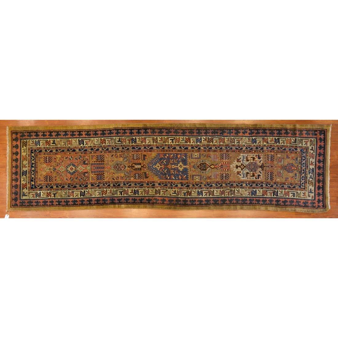 Antique Serab Runner, Persia, 3.2 x 11.9