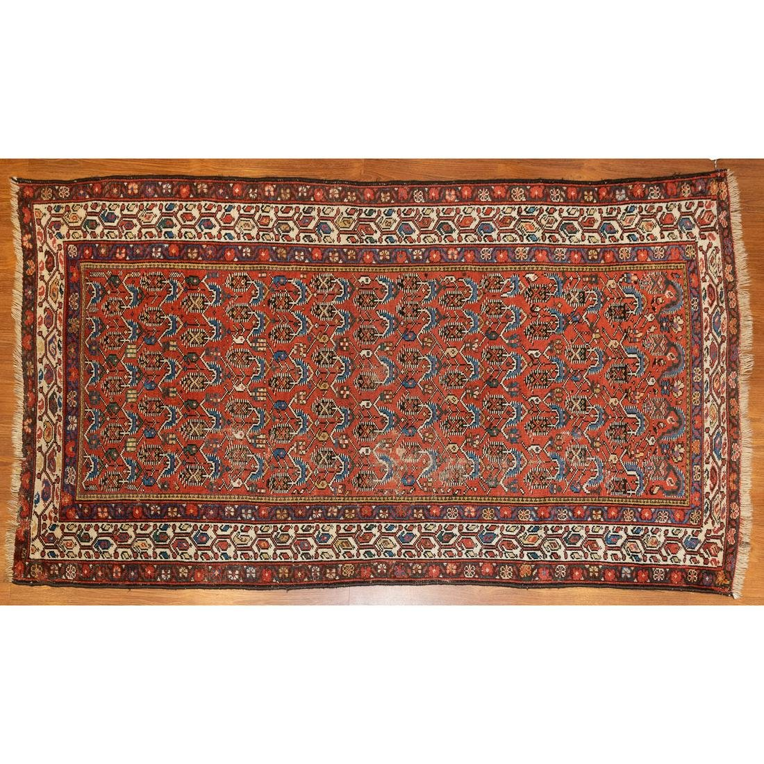 Antique Shirvan Rug, Caucasus, 3.6 x 6.6