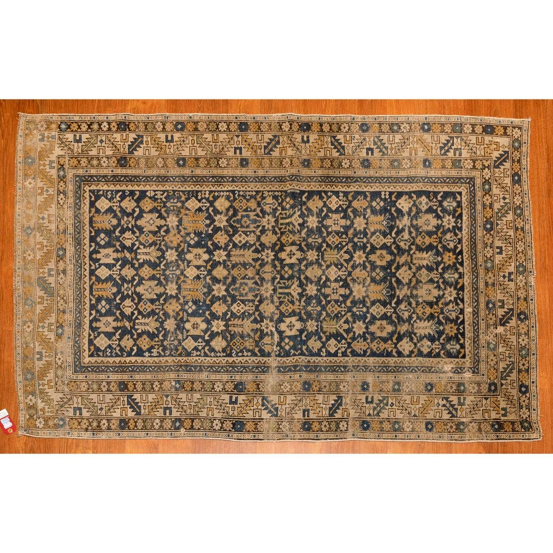 Antique Shirvan Rug, Caucasus, 3.8 x 5.5