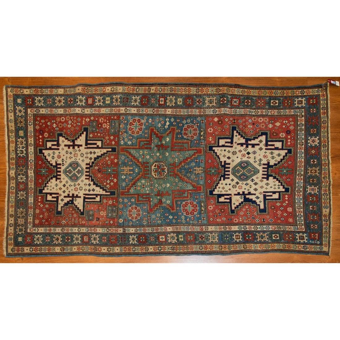 Antique Shirvan Rug, Caucasus, 3.7 x 6.6