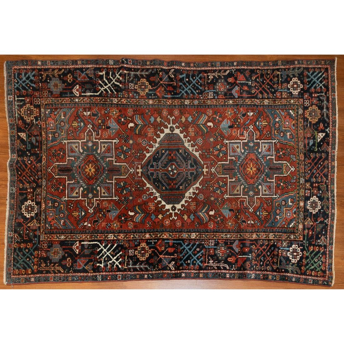 Semi-Antique Karaja Rug, Persia, 4.7 x 6.1