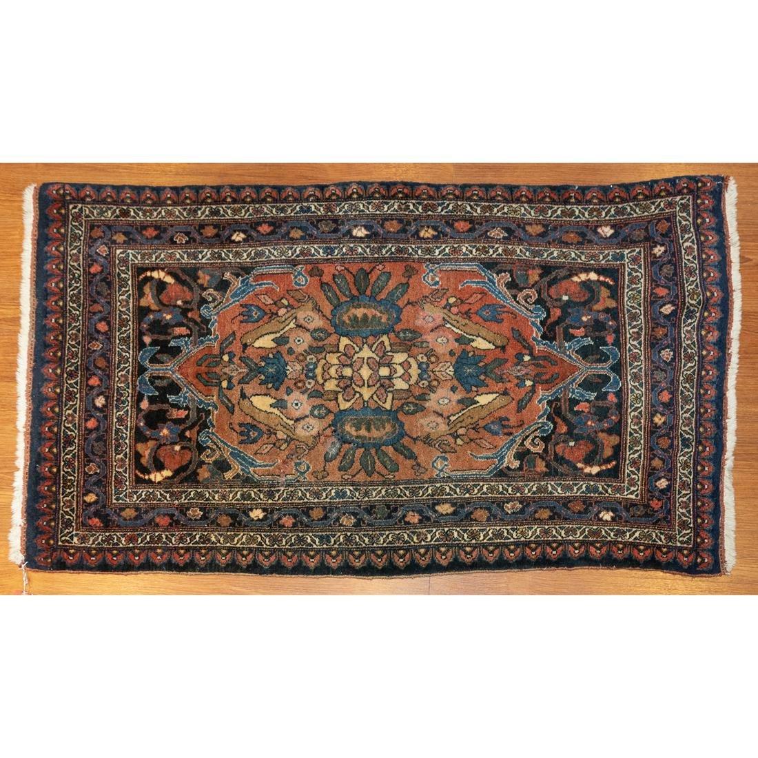 Semi-Antique Bijar Rug, Persia, 2.5 x 4.2
