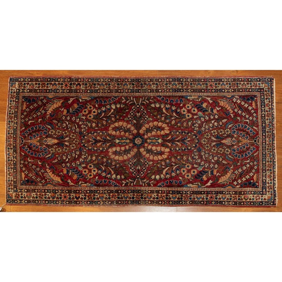 Semi-Antique Sarouk Rug, Persia, 2.5 x 4.10