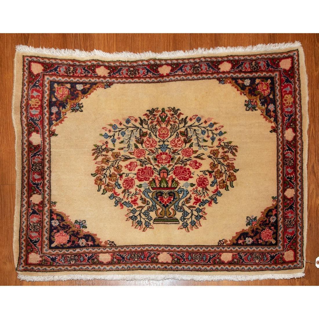 Semi-Antique Sarouk Rug, Persia, 2.5 x 3.6